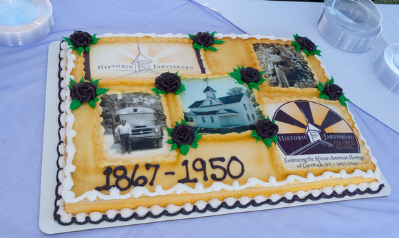 Dedication of Historic Jarvisburg Colored School Museum, September 27, 2014