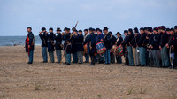 The Battle of Fort Macon is reenacted