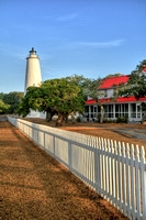 Ocracoke Lighthouse in a beautiful light