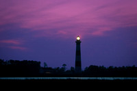 Bodie Island Lighthouse, blue sunset (#221)