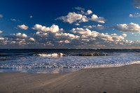 Clouds and waves combine in Ocracoke, NC