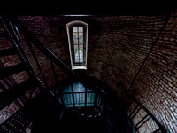 Inside the Currituck Lighthouse