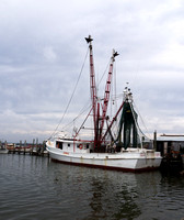 Big shrimp boat in Swansboro, NC